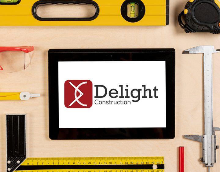 Delight Logo Construction