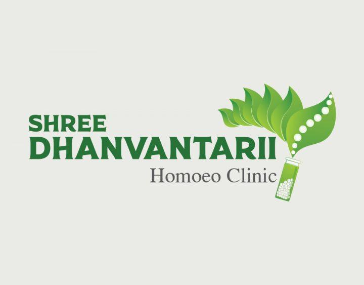 Shree Dhanvantrii Logo