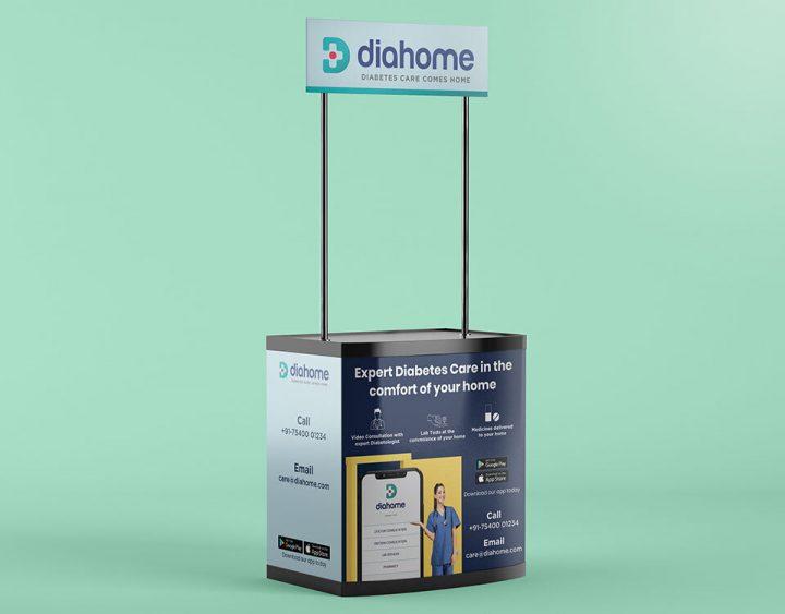 Dia Home Kiosk Design